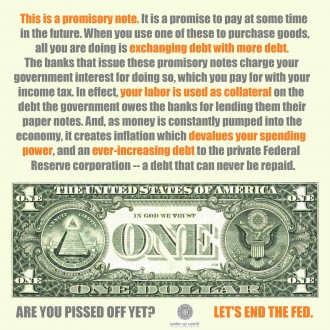 The Federal Reserve is a Ponzi Scheme - US Dollar
