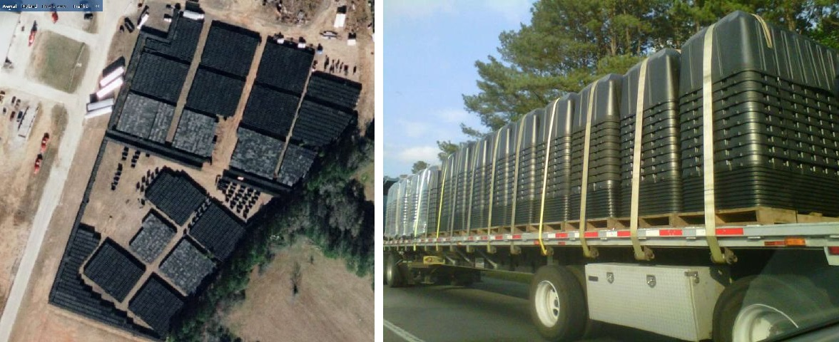 Former Air Force Officer Warns Of Atmospheric Spraying And The Coming Collapse - FEMA coffins in Georgia