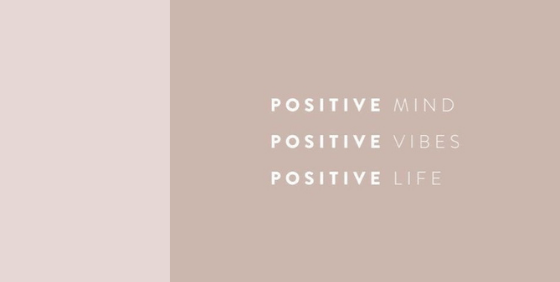 How I become a positive person
