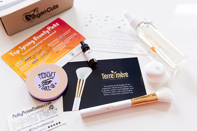 Vegan Cuts Beauty Box Review Wake Up For Makeup