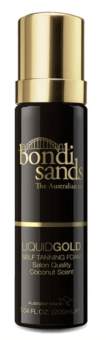 bondi sands liquid gold foam