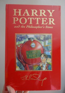 Harry Potter Philosopher's Stone red