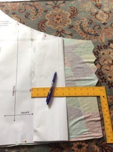 Marking pleats