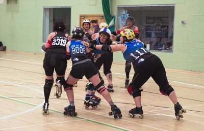 wakefield roller derby blockers