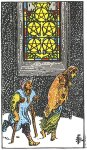 V of Pentacles