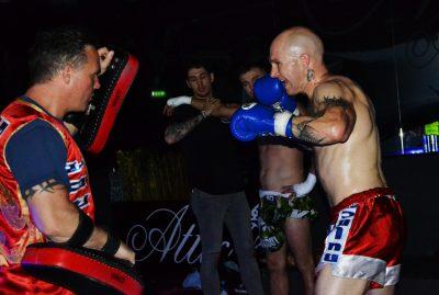 wakt fighter warming up
