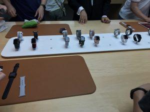 Apple Watch発売日から3日目は渋谷店に来ました。