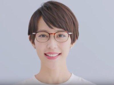木村佳乃のショートカットCM