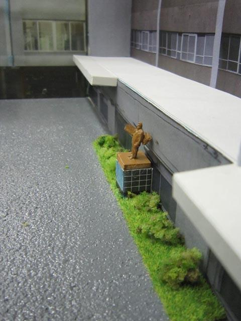 模型 二宮金次郎像