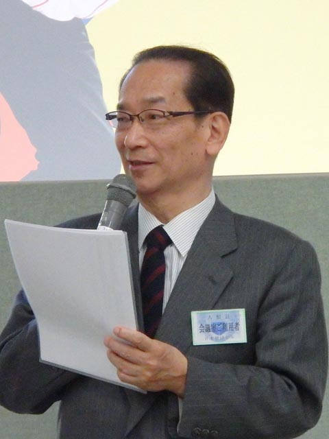 """基調講演「日本の""""民主主義を鍛える""""地域での実践」"""