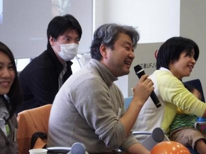 谷内さんのストーリー・テリング「ヒゲを剃ったんですよ(泣)」