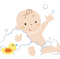 赤ちゃんのイラスト