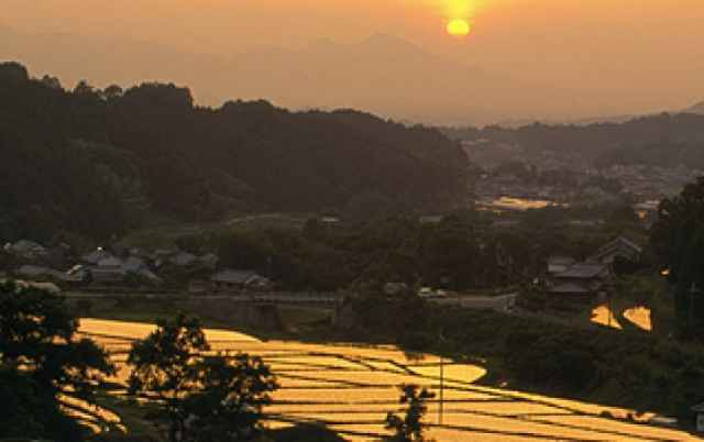 奈良の明日香村