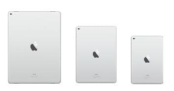 iPadモデル別サイズ比較