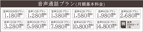 格安SIM 音声通話プランのMVNOシェアランキングイオンモバイル