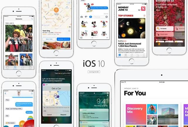 iOS10の新機能 10種類まとめトップ画像