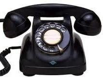 黒電話画像