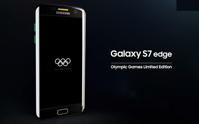 GalaxyS7edgeOlympicGamesLimitedEditiontopトップ画像