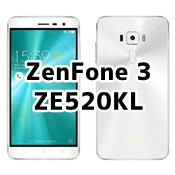 ZenFone 3 ZE520KL ASUSのSIMフリースマホの価格、口コミ評価、レビュー、スペックについて