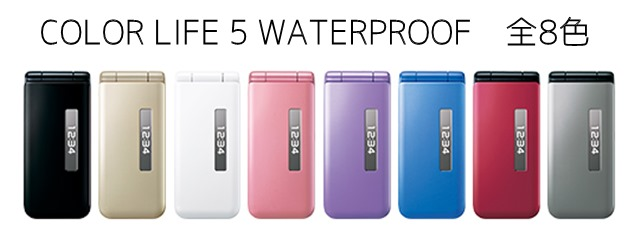 COLOR LIFE 5 WATERPROOF(401PM)