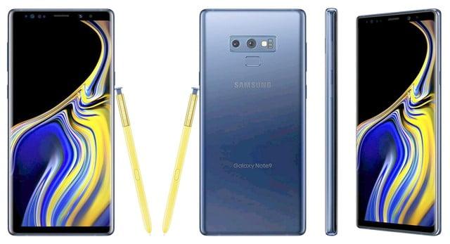 Galaxy Note9のデザイン