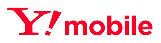 ワイモバイル赤白地ロゴ