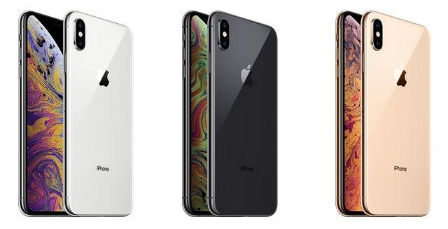 iPhoneXsMax本体カラー3色