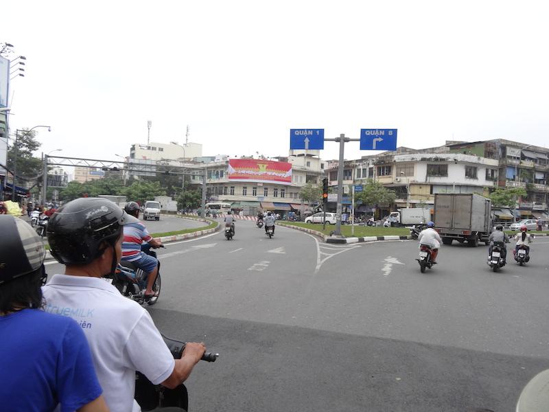 ベトナムでバイク移動