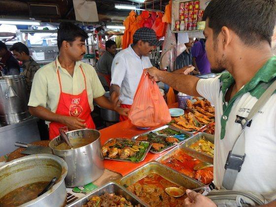 マレーシアでの食事