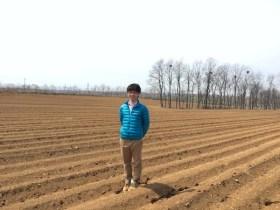 中国遼寧省で無農薬野菜の現場
