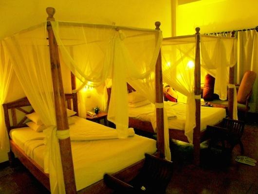バリ島の部屋