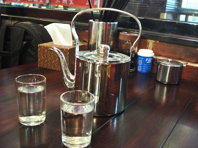 沸かした水道水