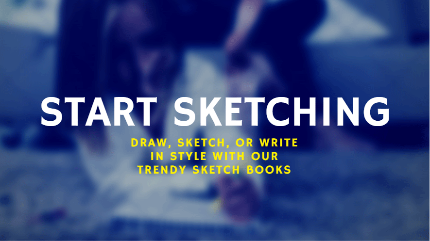 Start Sketching with Our Trendy Sketch books
