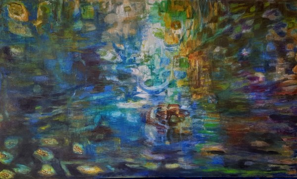 Blue Reflection 36 x 60