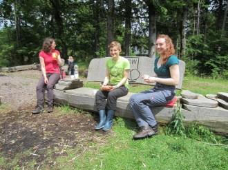 04.06.2016 - Betreuer Kristin, Anna und Alina