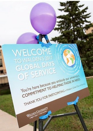 Global Days of Service poster