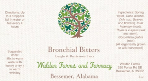 Bronchial Bitters