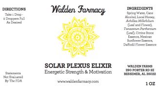 Solar Plexus Elixir