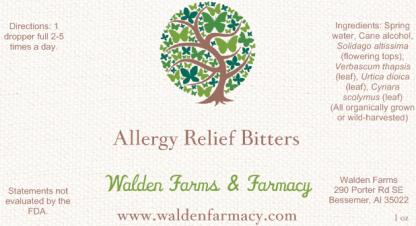 Allergy Relief Bitters