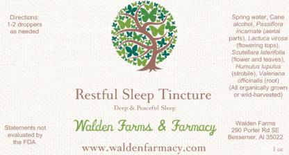 Restful Sleep Blend