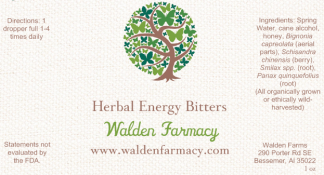 Herbal Energy Bitters
