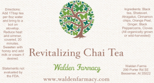 Revitalizing Chai Tea