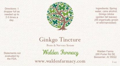 Ginkgo Tincture