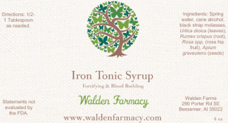 Iron Tonic Syrup