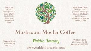 Mushroom Mocha Coffee