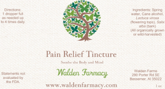Pain Relief Tincture