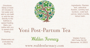 Yoni Postpartum Tea
