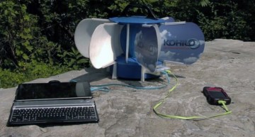 Worlds First Portable Wind Turbine for USB Devices