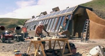 How We Built Our Earthship, an Off-grid Prairie Home