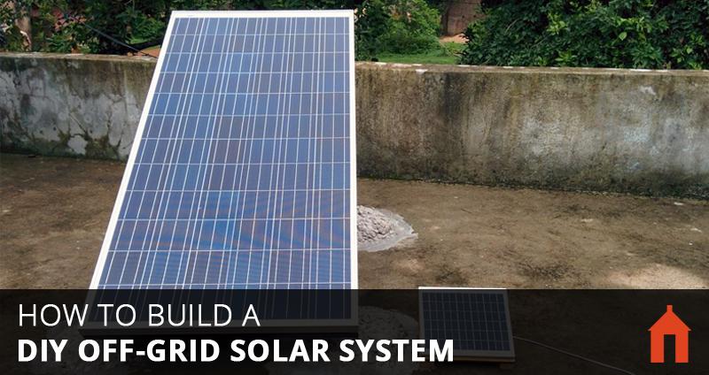 9 Steps To Build A Diy Off Grid Solar Pv System Walden Labs